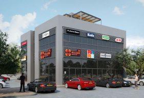 מרכז מסחרי בוסל בנתניה - א.ל. טרנס