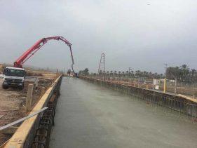 הקמת גשר רכבת גדעונה - א.ל. טרנס