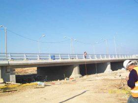 שיקום גשר נחל כזיב - א.ל. טרנס