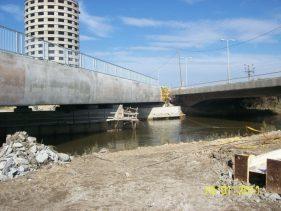 גשר רכבת מעל נחל נעמן עכו - א.ל. טרנס