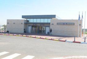 בניית תחנת רכבת יבנה מזרח - א.ל. טרנס